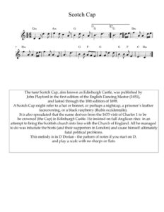 thumbnail of Scotch-Cap_sheet-music